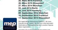 Deutschland-Roadshow von internationalen MICE-Ausstellern für Event-Planer