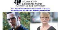 Live Entertainment Einkäufer Stefan Lohmann verstärkt sein Team.