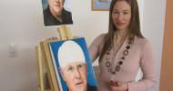 Koblenzer Künstlerin malt fotorealistische Portraits