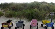 Bollerwagen: Transporthelfer auf 4 Rädern