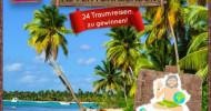 24 Traumreisen zu gewinnen: Urlaubsguru.de startet Deutschlands attraktivsten Adventskalender / Party in Las Vegas, Familienurlaub auf Mallorca und mehr: Traumreisen bei Urlaubsguru.de gewinnen (FOTO)