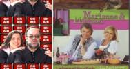 Roland Rube und Ariane Kranz On Air mit Marianne und Michael