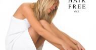 Dauerhafte Haarentfernung mit HairFree Gel