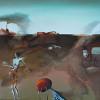 Malerei von Eugenia Kerrinnes + Taschen von Helga Colsman