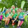 """Lauferfolg in Neongrün: 1.290 """"Guglwald bewegt""""-Starter beim Linz Marathon 2018"""
