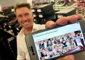Interaktiv, viral, transparent: schuhplus startet Rubrik Kundenfotos und Kundenvideos