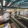 Neues Kreuzfahrtschiff: Ausdocken der AIDAnova / Das erste mit LNG betriebene Kreuzfahrtschiff von AIDA verlässt die Baudockhalle der Meyer Werft am 21. August (FOTO)