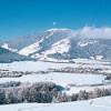 Advent mit Schneekristallen und holzArt in Olang