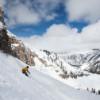 Skifahren bei Amans Schneeköniginnen: Amangani und Aman Le Mélézin