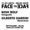 Ausstellung Face to Face – Kosh Wolf + Gilberto Giardini