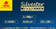 Silvester-Millionen im Raum Crailsheim, Kornwestheim, Rottweil, Winnenden und dem Kreis Reutlingen gewonnen (FOTO)