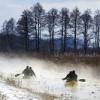 Winter-Wellness mit Kanu fahren auf dem Hévíz-Bach