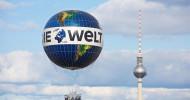 Wohin zu Ostern? WELT-Ballon bringt seine Gäste in den Himmel über Berlin
