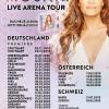 """Andrea Berg: Neues Studioalbum """"MOSAIK"""" belegt auch inÖsterreich und der Schweiz auf Anhieb Platz 1 der Album-Charts"""