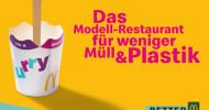 """Weniger Müll und Plastik: McDonald""""s Deutschland startet Live-Experiment mit alternativen Verpackungen (FOTO)"""