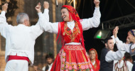 Das Tor zu Europa steht im Sommer an der Ostseeküste / Internationales Flair beim europäischen folklore festival (FOTO)