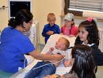 Einladung der Asklepios Klinik im Städtedreieck an die Kindergärten