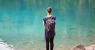 Bergseen: Langsam an das kalte Wasser gewöhnen (FOTO)