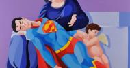 Banksys Waffen, Superman & mehr in der Münchner Residenz – Galerie Kronsbein mit Urban & Pop Art Werken bei der 10. Münchner HIGHLIGHTS