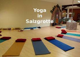 Yoga in der Salzgrotte Karlsruhe inkl. Solevernebelung