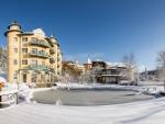 Abtauchen auf der ruhigen Seite des österreichischen Winters