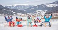 """Familien """"erfahren"""" in Olang das Beste von Dolomiti Superski"""