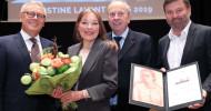 Christine Lavant Preis an die deutsche Autorin Angela Krauß verliehen