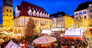 Premiere auf dem Bielefelder Weihnachtsmarkt / Am 25. November 2019 startet einer der größten Märkte in NRW / Erstmals Eisbahn in der Altstadt (FOTO)
