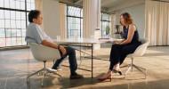 """""""Ich habe kein Talent zum Hassen"""": ZDF und 3sat zeigen Gesprächsfilm der Mainzer Stadtschreiberin Eva Menasse mit dem Schriftsteller Robert Schindel (FOTO)"""