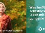 Diskussionsrunde: Leben mit Lungenkrebs – selbstbestimmt, informiert, unterstützt (FOTO)