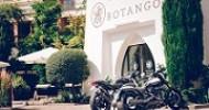 Coole Base für Motorradfahrer: Vom BOTANGO auf Südtirols Pässe und Bergstraßen