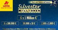 Sechs neue Millionäre auf einen Schlag: Gewinnzahlen der Lotterie Silvester-Millionen stehen fest (FOTO)
