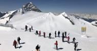 Sonnenskilauf am Gletscher Ein Ski-Erlebnis der Extraklasse
