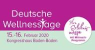 Deutsche Wellnesstage 2020 – Impulsgeber für einen ausgewogenen Lebensstil