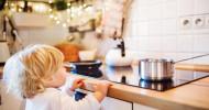 Gefahren zu Hause minimieren: Kindliche Perspektive einnehmen (FOTO)