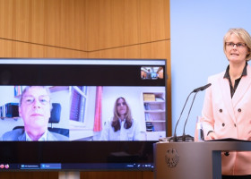 Karliczek: Neue WHO-Studie Solidarity vernetzt weltweite Forschung gegen Corona (FOTO)