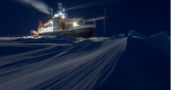 """TV-Dokumentation """"Expedition Arktis"""": Forschungsschiff """"Polarstern"""" liefert spektakuläres Material aus der Polarnacht – Erste Bilder ab Freitag, 8. Mai, u. a. in der """"tagesschau"""" (FOTO)"""
