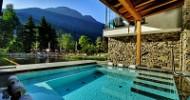 Neues Outdoor SPA am Fuße der Dolomiten