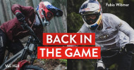 ": Fabio Wibmer und Vali Höll sind ""BACK IN THE GAME"""