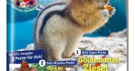 """medizini feiert 555. Ausgabe – mit 3 Postern und großem Jubiläums-Preisrätsel / Apotheken-Kindermagazin im Juli mit Wimmel-Poster """"Spaß im Freibad"""", Wissensposter """"Tiere im Garten"""" plus Super-Poster (FOTO)"""