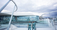Leopold Museum und MuseumsQuartier feierten Eröffnung der MQ Libelle