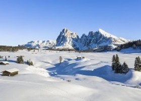 Ankommen-Ausruhen-Loslassen in der weitläufigen Winternatur der Seiser Alm