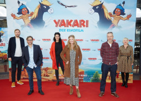 """Deutschlandpremiere in Hamburg: """"Yakari – der Kinofilm"""" / Kinostart am 29. Oktober im Verleih von LEONINE (FOTO)"""