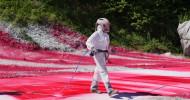 """""""Think Big! – Die Künstlerin Katharina Grosse"""" in 3sat: Porträt über die Malerin mit Spraypistole (FOTO)"""