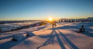 Die Magie des Gehens im Winter: So erlebt man die Wintersonne inÖsterreichs Wanderdörfern