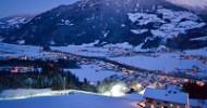 Skifahren von früh bis spät – vom Bett auf die Piste Chaleturlaub mitten im Skigebiet Hochfügen-Hochzillertal