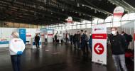 EcoCare hat Corona-Impfzentren in Nürnberg, Augsburg, Rhein-Taunus und in Offenbach erfolgreich in Betrieb genommen / 2 weitere Impfzentren nehmen in den nächsten Tagen ihre Arbeit auf (FOTO)