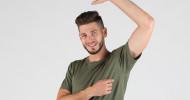 Neues T-Shirt zeigt keine Schweißflecken