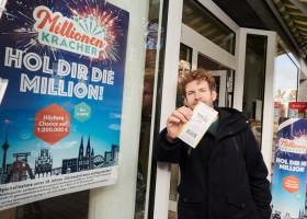 Silvester-Ziehung: vier Millionengewinne / Mit dem MillionenKracher ins neue Jahr (FOTO)