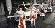 Fordübergibt Fahrzeuge an Kölner Dreigestirn